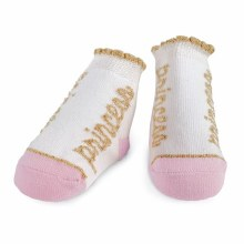MudPie Pink Princess Socks