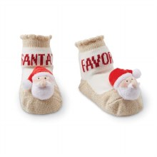 MudPie Santa Rattle Sock