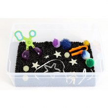 Messy Play KitsSensory Bin Outer Space