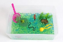 Messy Play KitsSensory Bin River