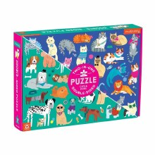 Mud Puppy Double-Sided Puzzle Cats & Dogs