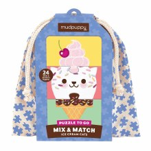 Mud Puppy Mix and Match Puzzle