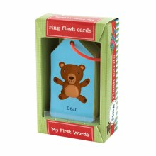 Mud Puppy Ring Flash Cards Baby's First Words