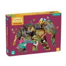 300-Piece Shaped Puzzle African Safari