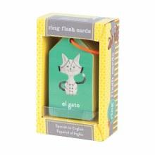 Mud Puppy Flash Cards- Spanish/English