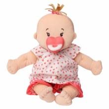 Baby Stella Peach with Brown Hair
