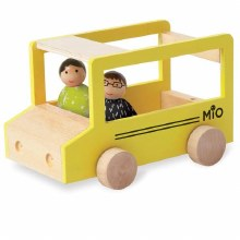 MiO School Bus & Two People