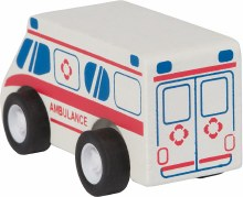 Manhattan Toy PullBack Rescuers Ambulance