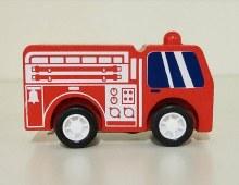 Manhattan Toy PullBack Rescuers Firetruck