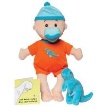 Manhattan Toy Wee Baby Stella Dinosaur Set