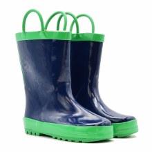 Mucky Wear Loop Boot Navy/Green 7T