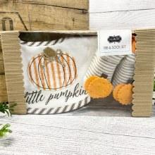 MudPie Little Pumpkin Bib & Sock Set