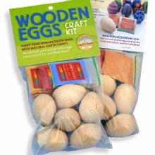 NEP Wooden Eggs Craft Kit