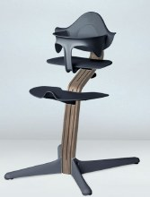 Nomi High Chair Walnut / Anthracite