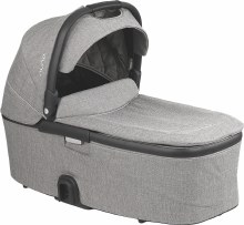 Nuna Demi Grow Bassinet Frost