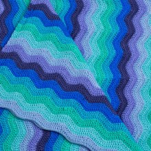 OB Designs Baby Ripple Baby Blanket