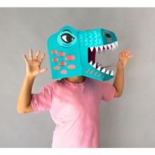 3D Dinosaur Mask Rex