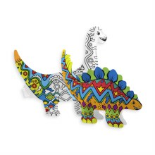 Ooly 3D Colorables Dinosaur Fr
