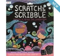 Ooly Scratch & Scribble Mermaid