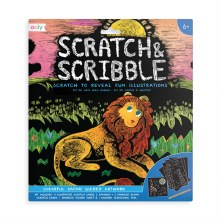 Ooly Scratch & Scribble Safari
