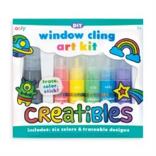 Ooly Window Cling Art Kit