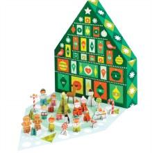 Petit Collage Winter Wonderland Advent Calendar