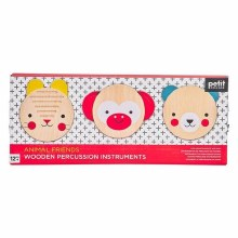 Animal Friends Wooden Percussion Instruments