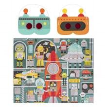 Deoder Puzzle Robot 100 Pieces