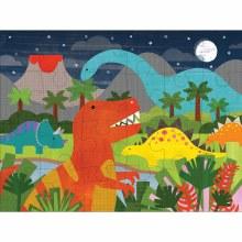 24-Piece Floor Puzzle Dinosaur Kingdom