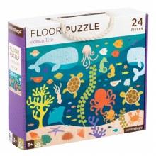 24-Piece Floor Puzzle Ocean Life