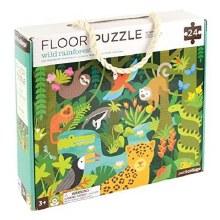 24-Piece Floor Puzzle Wild Rainforest