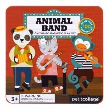 Petit Collage Magnetic Play Set Animal Band