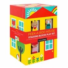Petit Collage Peek-A-Boo House