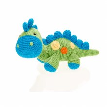 Pebble Dinosaur Rattle