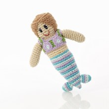 Pebble Mermaid Rattle