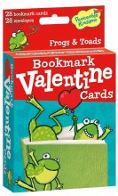 Peaceable Kingdom Bookmark Valentines