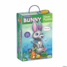 Bunny 41-Piece Shimmery Floor Puzzle