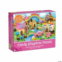 Candy Kingdom Scratch and Sniff 83-Piece Puzzle