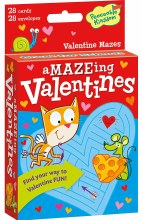 Peaceable Kingdom Maze Valentines
