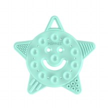 Poppies Smiley Star Teether Mint