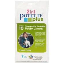 Potette Plus Dispoable Liners 10-Pack