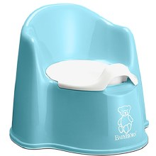 BabyBjorn Potty Chair Turquiose
