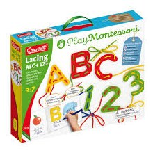 Quercetti Lacing ABC + 123
