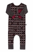 Rags LSHP HeartStripe 3-6m