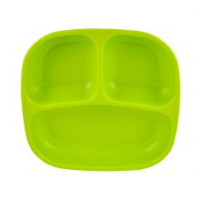 Re-Play Divided Plate - Light Green