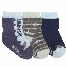 Robeez Shark Socks 0-6