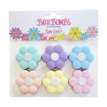 Mini Daisy Bath Bombs