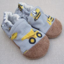 Snow and Arrow Organic Cotton Slippers Construction
