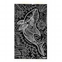 Sand Cloud Towel Floral Dolphin