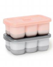 Skip Hop Easy Fill Freezer Tray Coral
